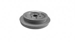 BELT PULLEY 198 X 28 mm 4 GROOVE ASP.MB.3100626 366 200 0205