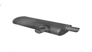 EXHAUST MUFFLE ASP.MB.3101237 371 490 7101 OM366 -2517