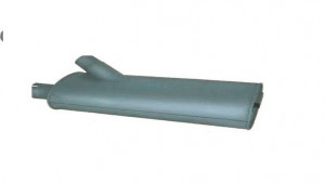 EXHAUST MUFFLE ASP.MB.3101238 371 490 7201 OM366 -2517